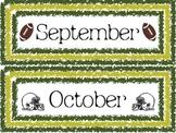 Football Calendar Months