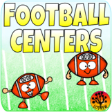 Football Centers Sports Activities Literacy Math Fine Motor Gridiron Bowl