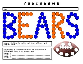 Football Chart (Behavior)