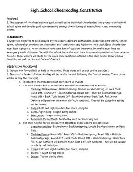 Football Cheerleading Survival Guide