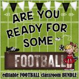 Football Classroom Decor