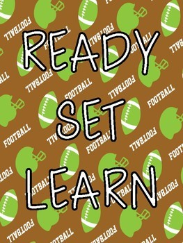 Football Classroom Posters