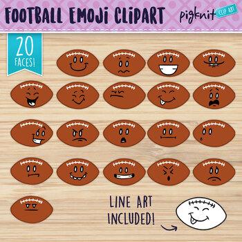 Football Clip Art, Football Faces, Football Characters, Football Season