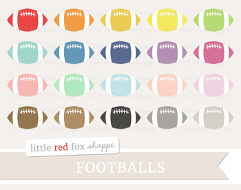 Football Clipart; Sports, Equipment