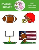 Football Clipart Freebie