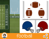 Football Clipart and Backgrounds!