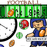 Football Clock Decor: For Your Sports Themed Classroom