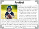 Football Close Reading Practice