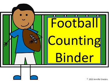 Interactive Football Counting Notebook