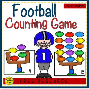 Football Counting Game {FREE}