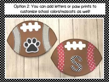 Football Craft: Sports Crafts: Homecoming Crafts: Fall Crafts