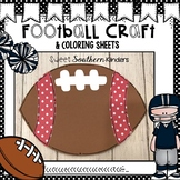 Football Craft: Sports Crafts: Homecoming Crafts: Fall Crafts