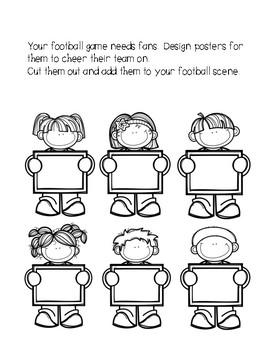 Football Craftivities Super Bowl Pack