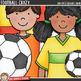 "Soccer / Football Clip Art: ""Football Crazy"""