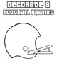 Decorate a football helmet