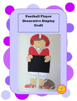 Football - Decorative Display/ Craft