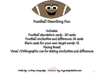Football Describing Fun