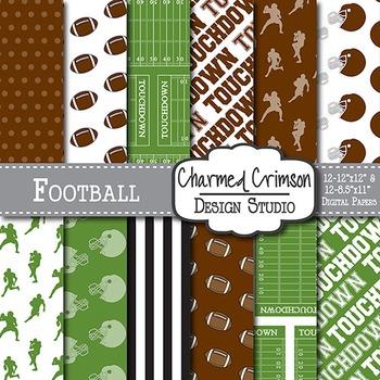 Football Digital Paper 1068