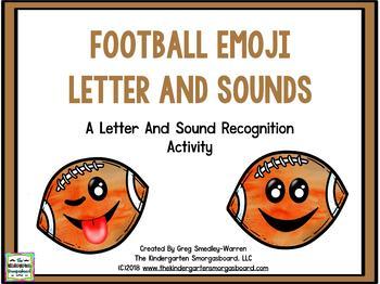 Football Emoji Letters & Sounds