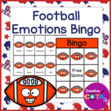 Football Emotions and Feelings Bingo