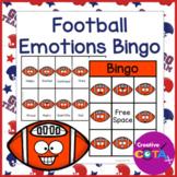 Football Emotions and Feelings Bingo