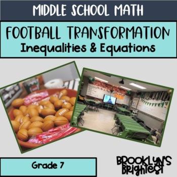 Football Equations & Inequalities Transformation
