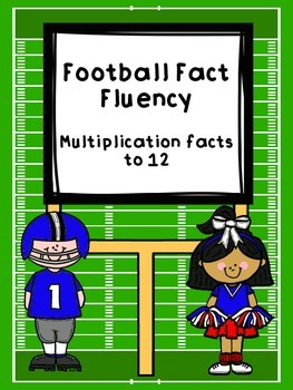 Football Fact Fluency-Multiplication Facts to 12
