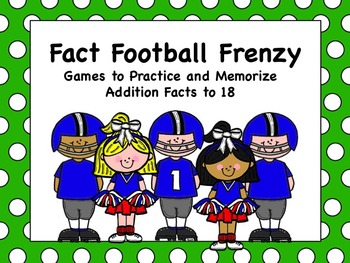 Addition and Subtraction Football Fact Frenzy