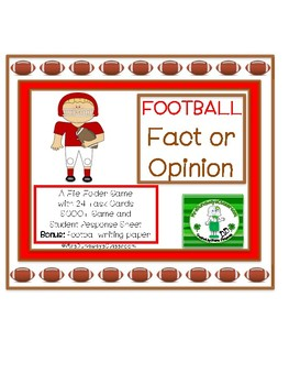 Football Fact or Opinion