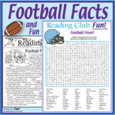 Football Facts & Fun (History, Teams, & Terms) 2-Page Acti