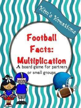 Football Facts (Multiplication): 13 Football board games