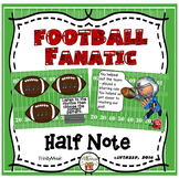 Football Fanatic Interactive Game (Half Note)