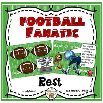 Football Fanatic Interactive Game (Quarter Rest)