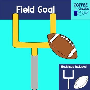 Football Field Goal Clipart