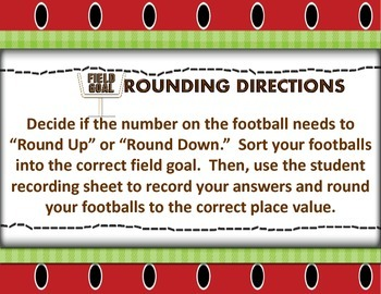 Football Field Goal Rounding