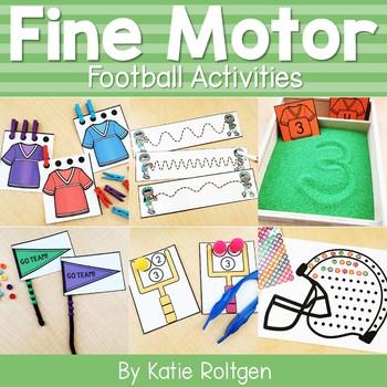 Football Fine Motor Activities