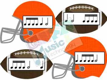 Football Rhythm Fly Swatter Card Game