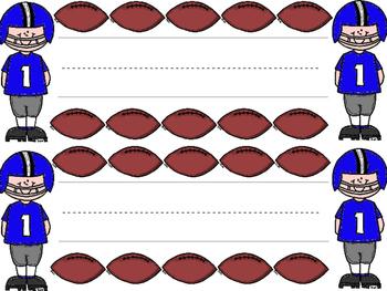 Football Football Player Name Plates
