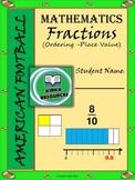 Super foot Bowl - Math - Fractions Worksheets