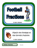 Football Fractions Folder Game