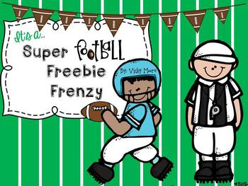 Football Freebie { in honor of the Big Game }