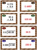 Football Frenzy Game Cards (Multiply & Divide Decimals) Sets 4, 5, 6