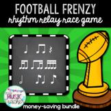 Football Frenzy BUNDLE: Rhythm Relay Race Game