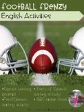 Football Frenzy ELA Activities