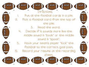 Football Frenzy: Flip the Sound /oo/
