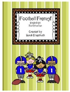 Football Frenzy! Single-Digit Multiplication