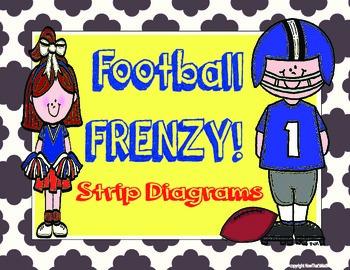 Football Frenzy- Strip Diagram Multiplicaton