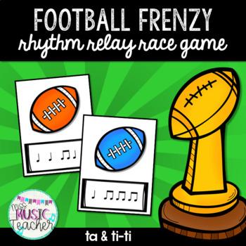 "Football Frenzy ""Ta & Ti-Ti"" Rhythm Relay Race Game"