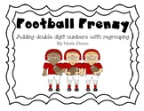 Football Frenzy addition with regrouping