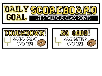 Football Friday Night Daily Scoreboard